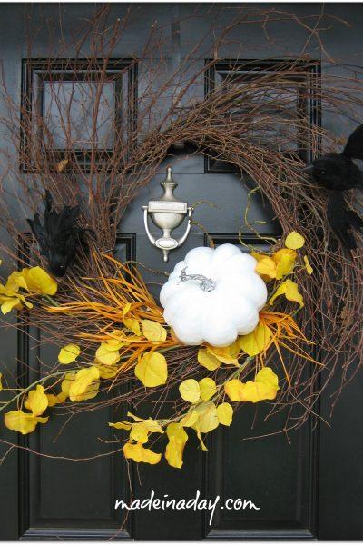 Spooky Wispy Wreath
