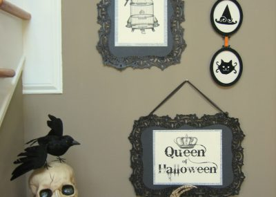 DIY Halloween Signs! 26