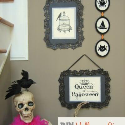 DIY Halloween Signs!