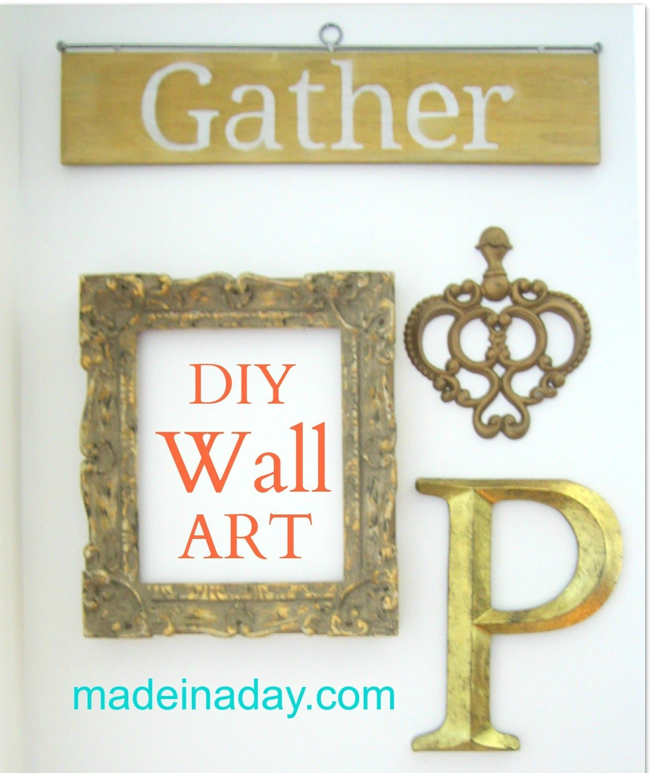 DIY Gather Sign Wall Art 25