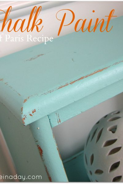 Chalk Paint ~ Vintage Side Table Up-do!