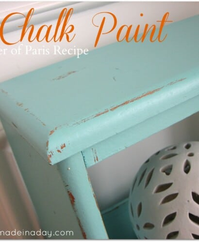 Chalk Paint ~ Vintage Side Table Up-do! 31