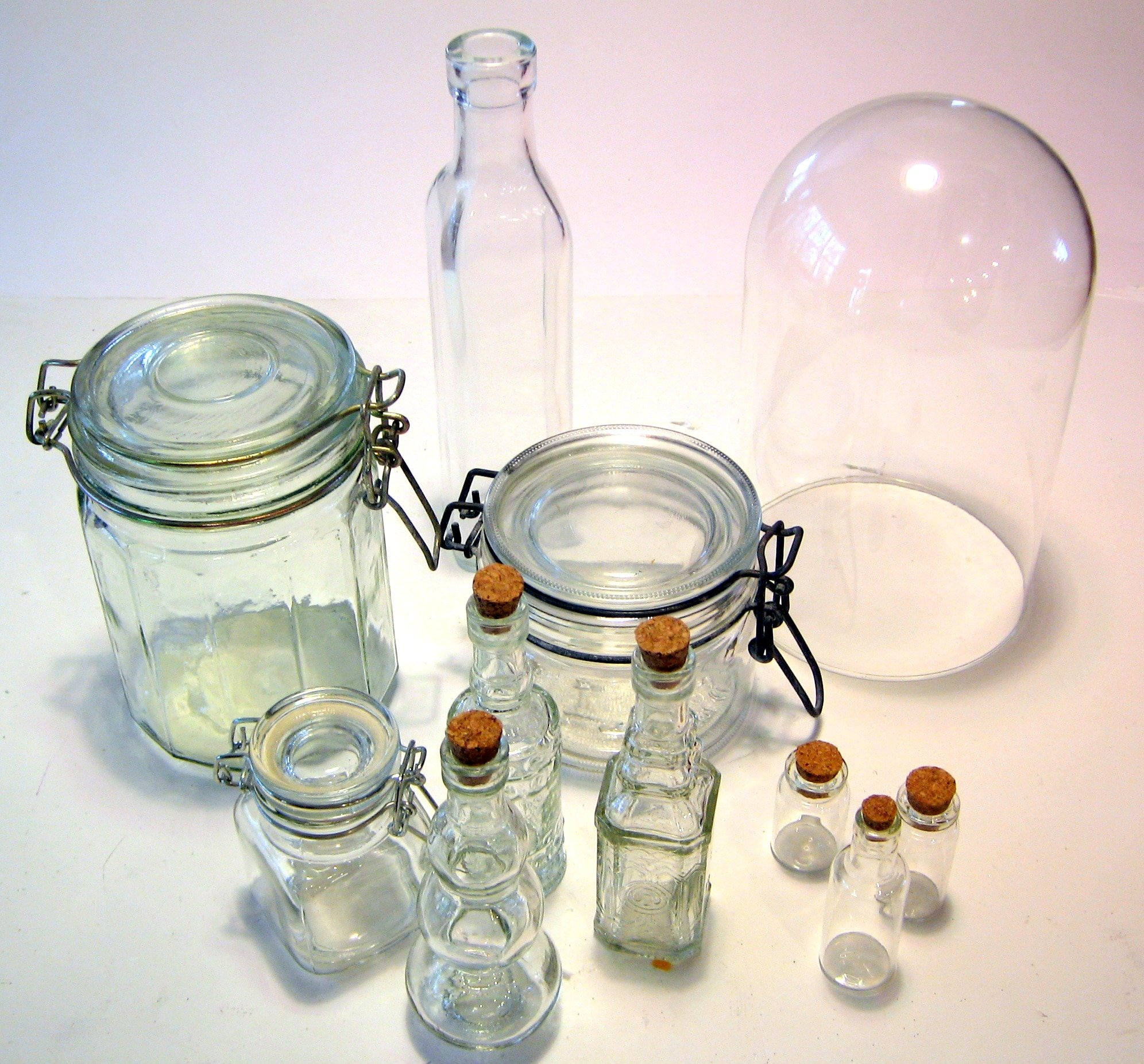turn old bottles into Halloween potion props