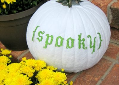 Spray Painted Pumpkins 23