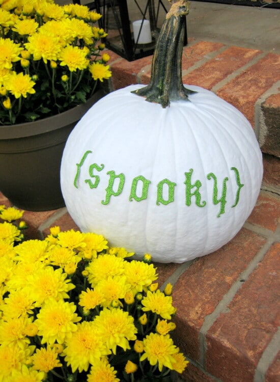 Spray Painted Pumpkins 39
