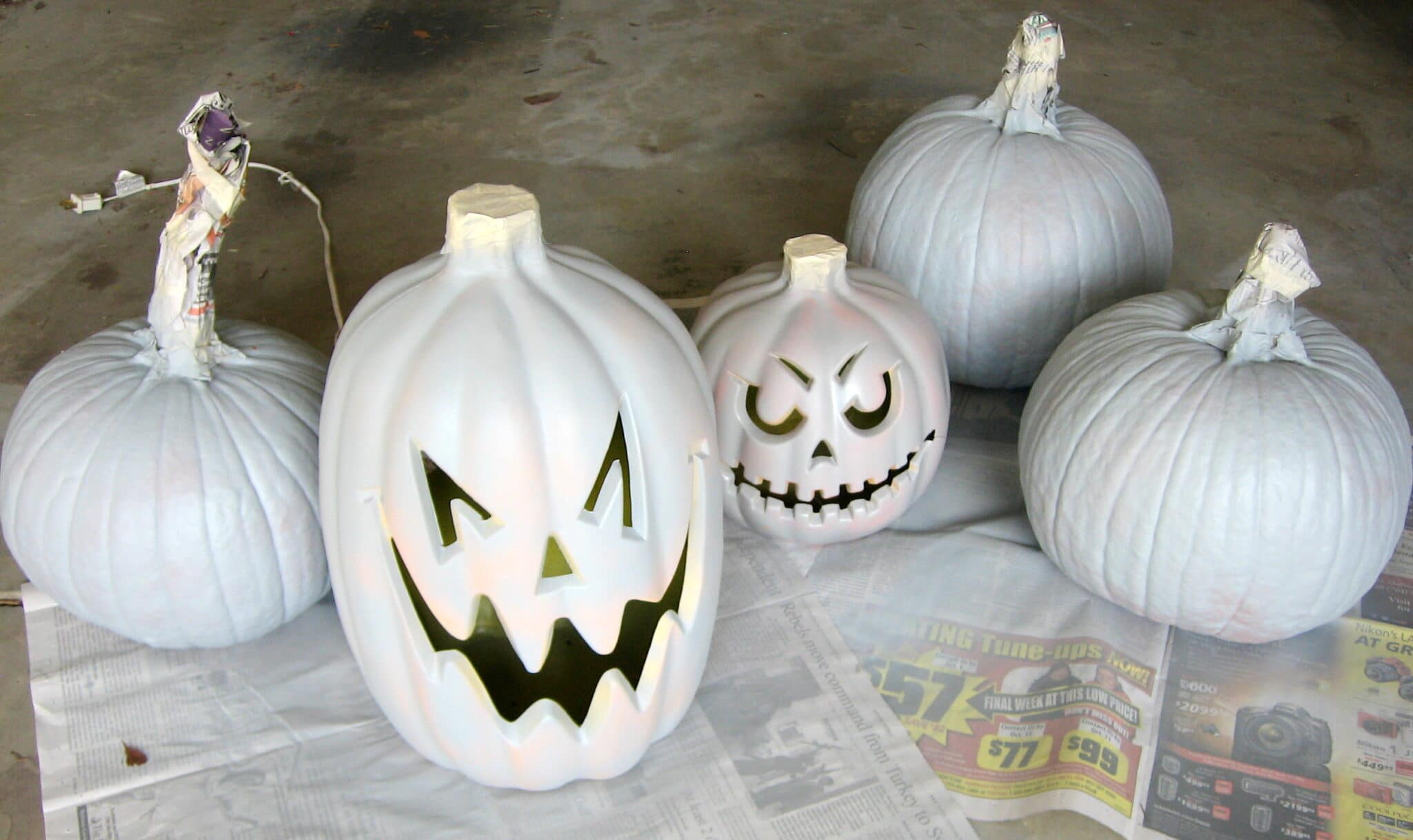spray-paint-real-faux-pumpkins-madeinaday-com