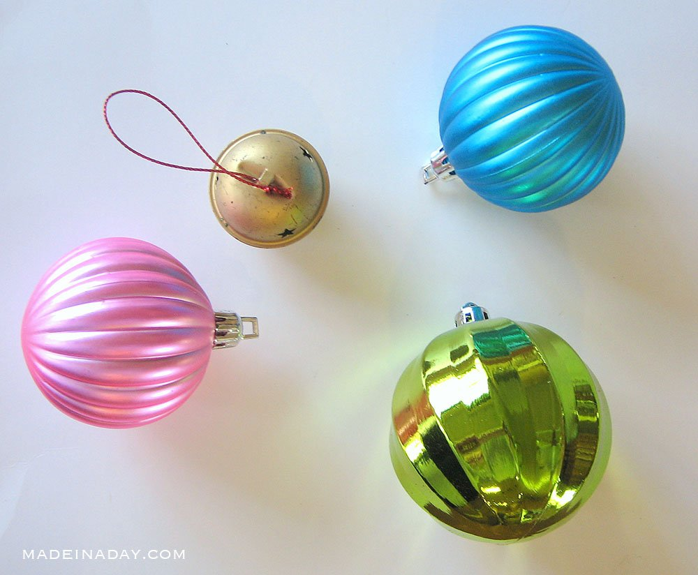 plastic ornaments