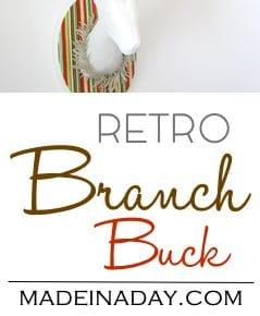 Retro Branch Buck 1