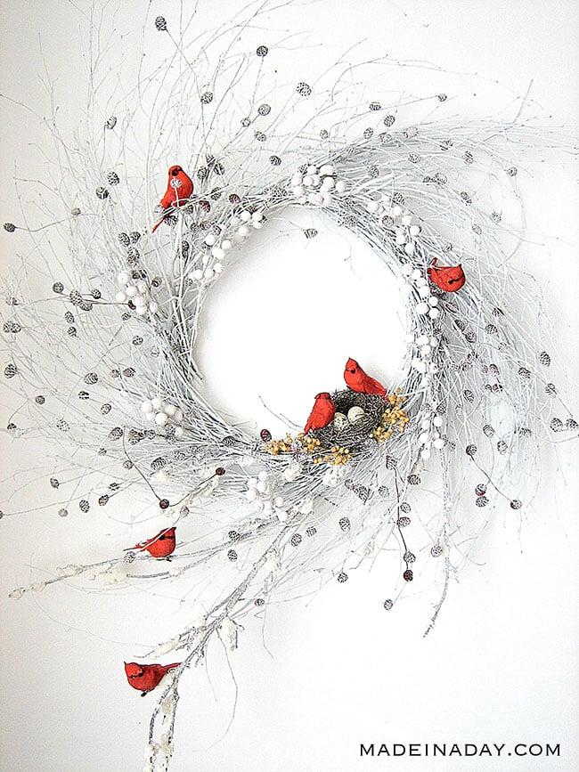 Charming Yarn Snowman Wall Art 39