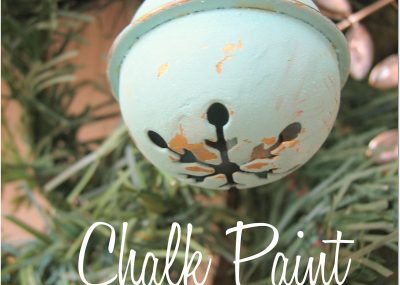 Shabby Chalk Paint Ornaments 16