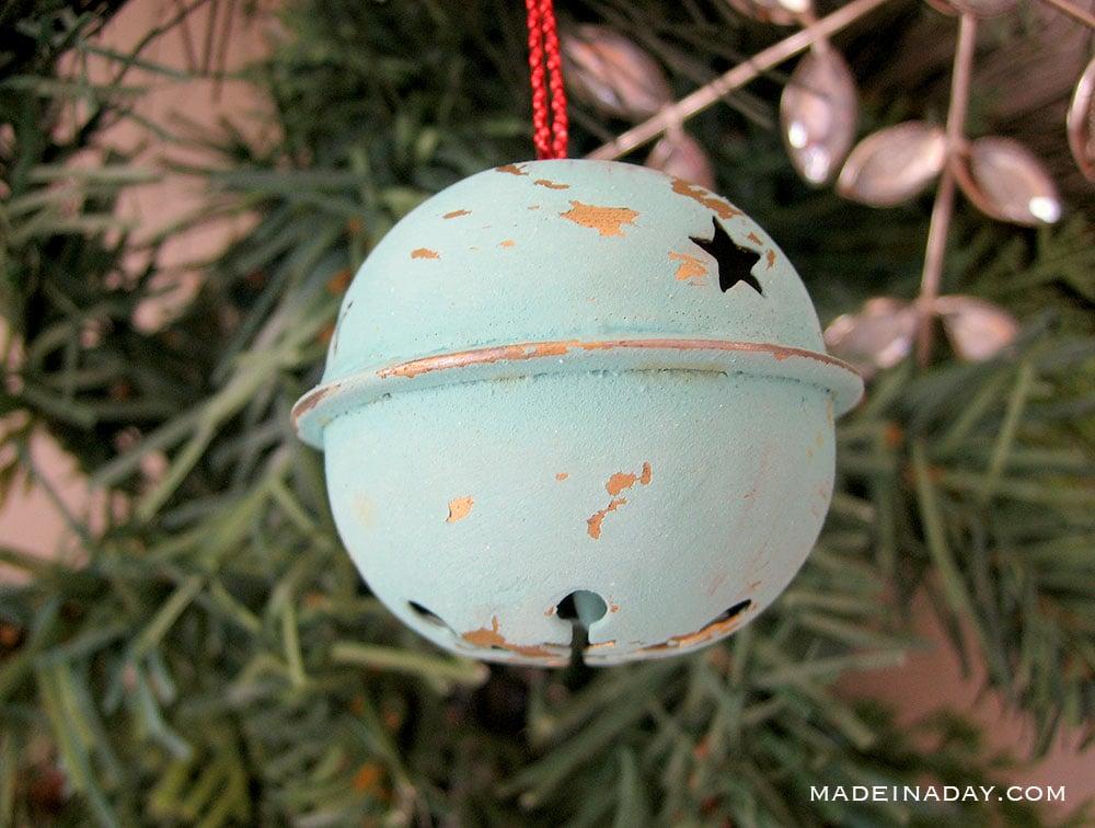 chalk paint ornament
