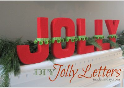 DIY Jolly Letters 15