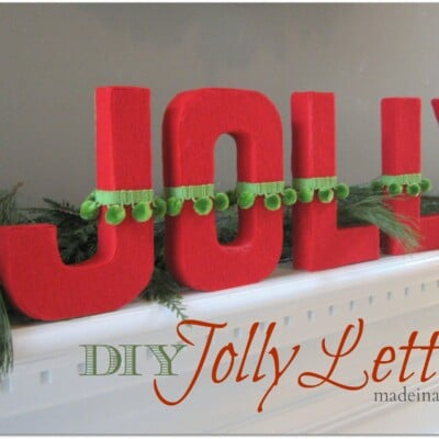 DIY Jolly Letters
