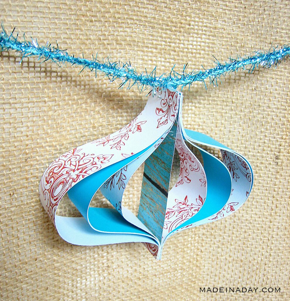 staples paper ornament