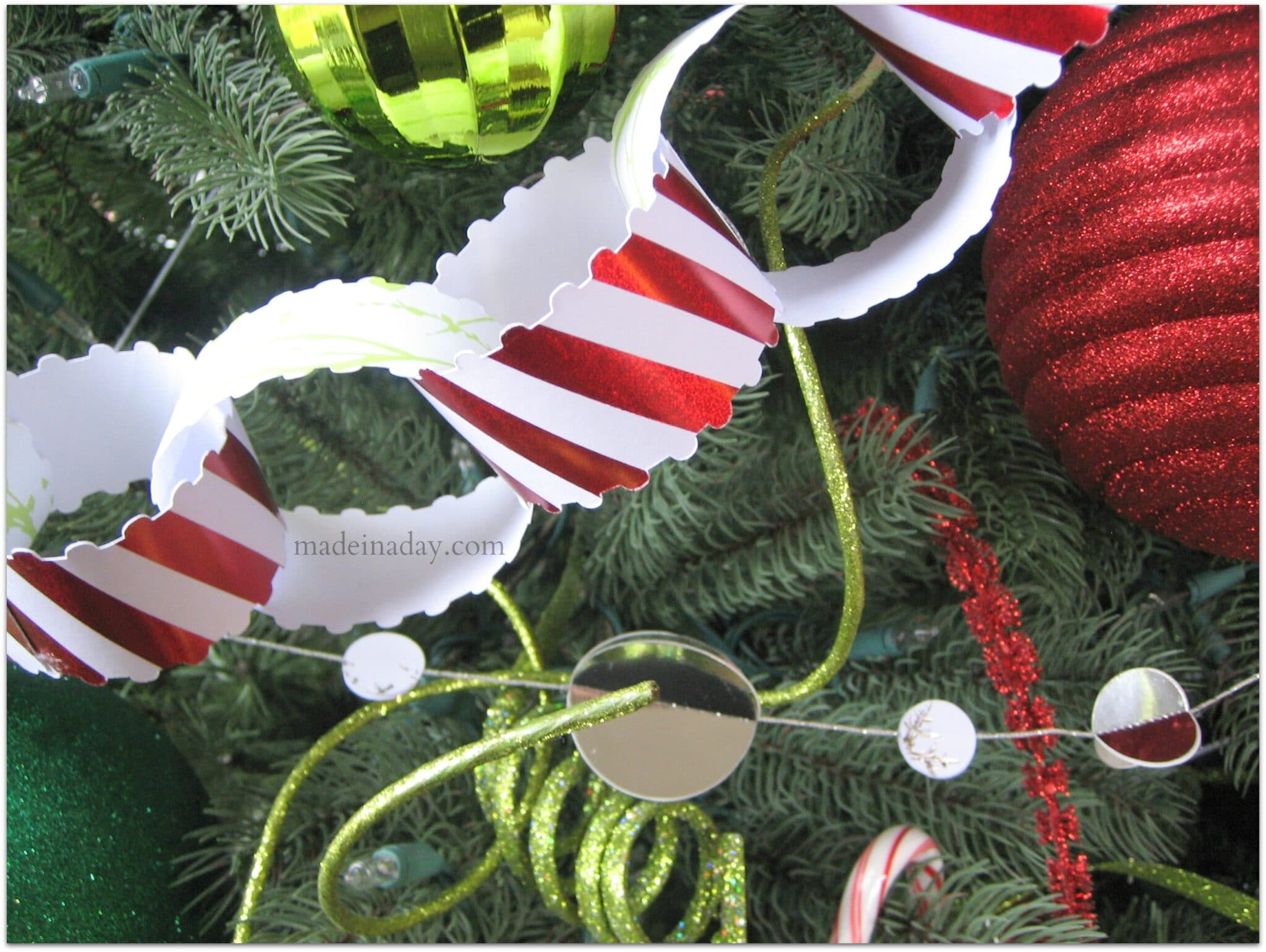 5 Easy Holiday Paper Garlands Made In A Day