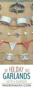 5 Easy Holiday Paper Garlands 1
