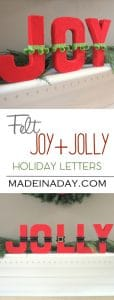 DIY Jolly Letters 1