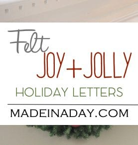 DIY Jolly Letters 1