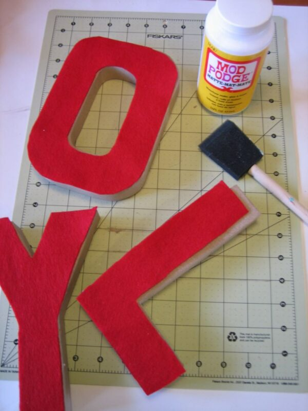 DIY Jolly Letters 2