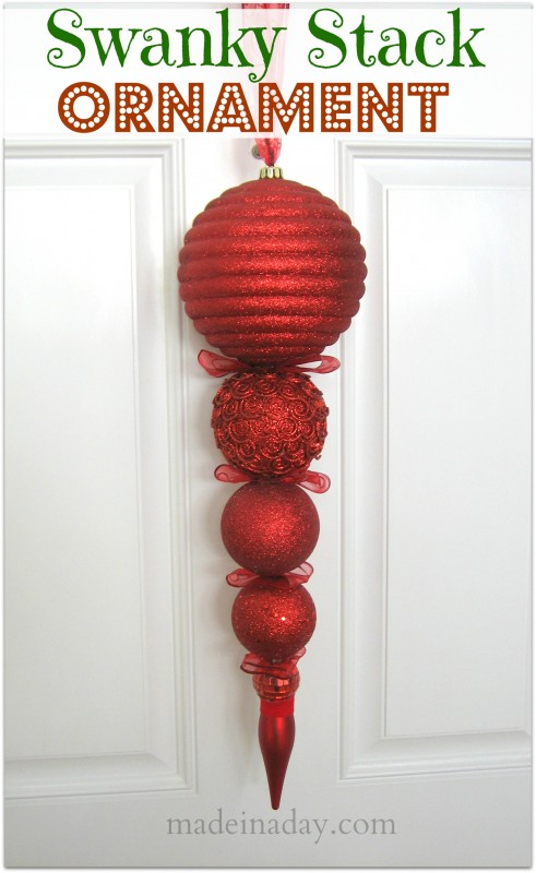 Large Stack Ornament