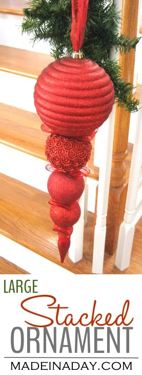 Swanky Stacked Ornament 2
