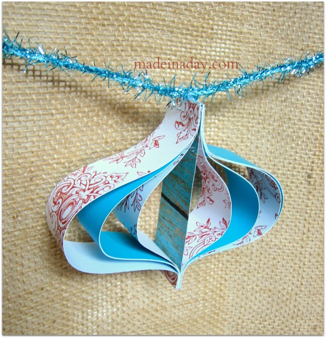 Paper Garland paper ornament