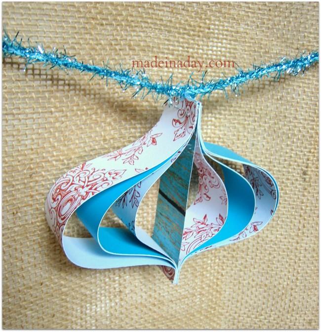 Paper Garland paper ornament