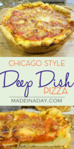 Chicago Style Deep Dish Pizza: Two Fantastic Recipes Combined 1