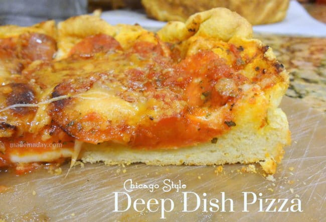 DIY Deep Dish Pizza