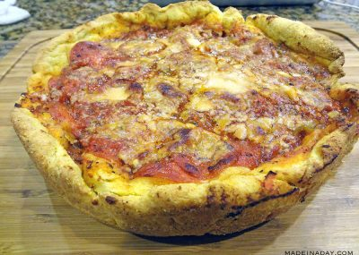 Chicago Style Deep Dish Pizza: Two Fantastic Recipes Combined 9