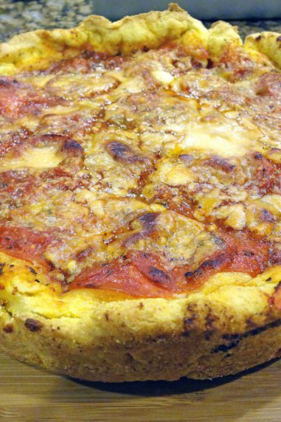 Chicago Style Deep Dish Pizza: Two Fantastic Recipes Combined