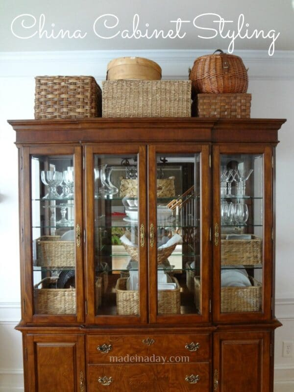 China Cabinet Styling Design