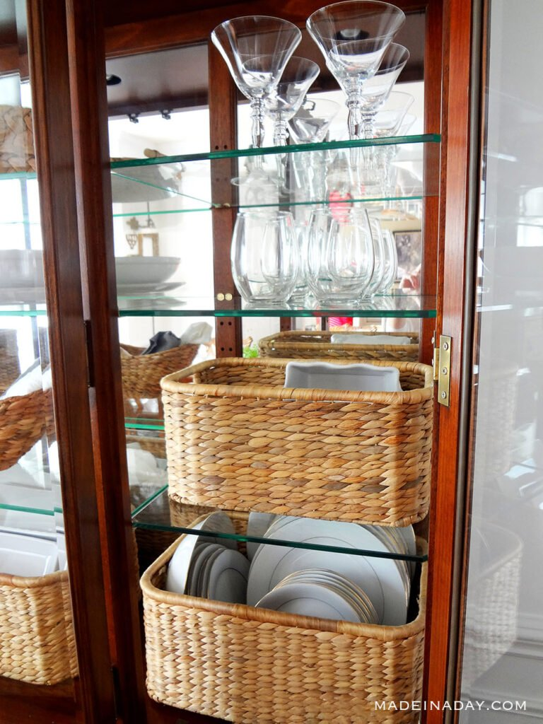 styling the china cabinet