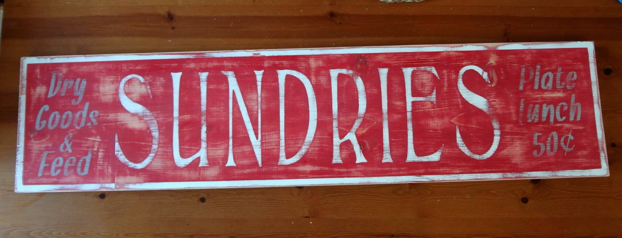 DIY Rustic Sign