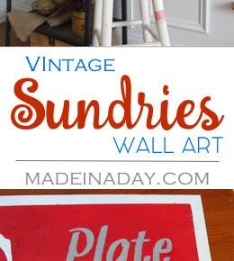 Vintage Sundries Sign 1