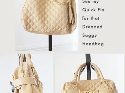 Purse Fix DIY Bag Shaper No-Sag!