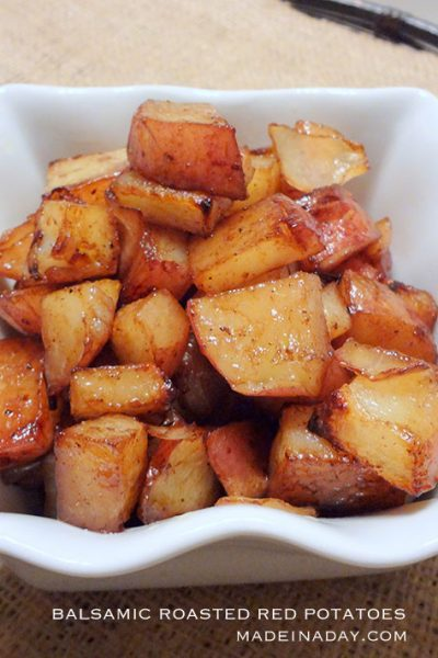 Oven Roasted Balsamic Red Potatoes Recipe