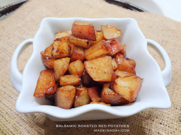 Balsamic Red Potoates