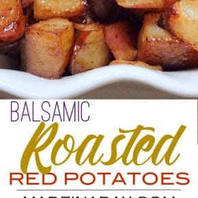 Oven Roasted Balsamic Red Potatoes Recipe 1