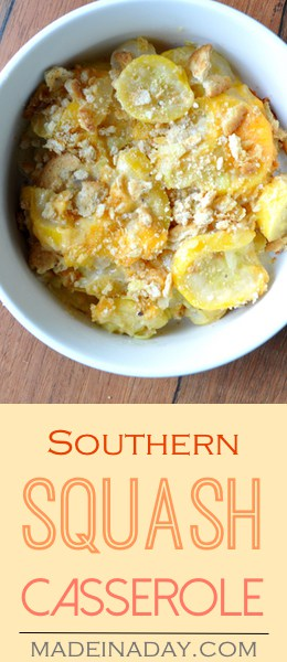 Southern Squash Casserole Recipe