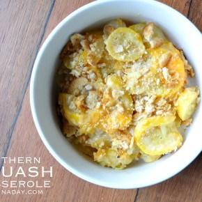 Southren Squash Casserole Recipe madeinaday.com