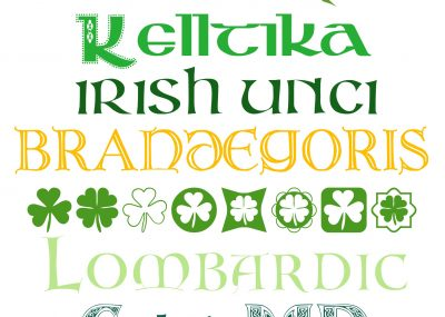 FREE Fonts for St Patricks Day 2