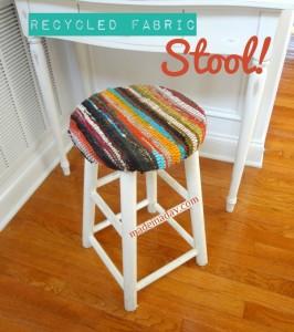 Fabric Stool
