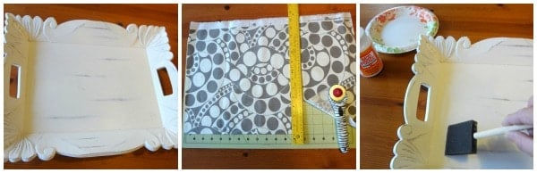 fabric lined tray tutorial