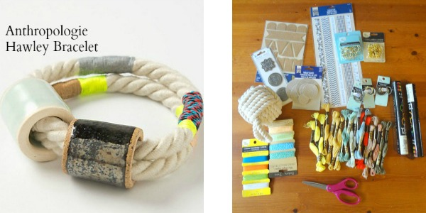 supplies to make rope bracelets