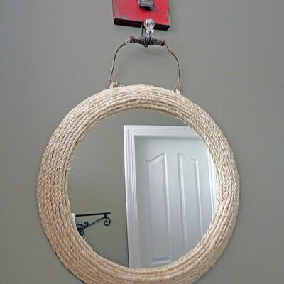 Jute Rope Mirror