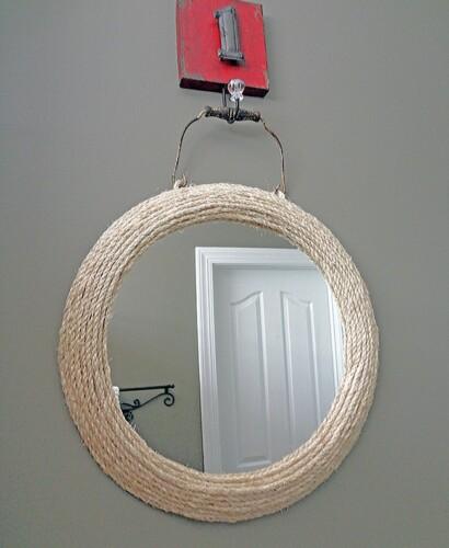 Jute Rope Mirror 31