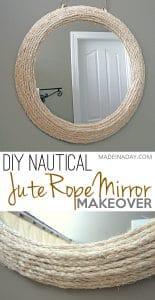 Jute Rope Mirror 1