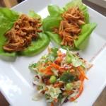 Honey Sesame Chicken Asian Slaw Pinterest Pic
