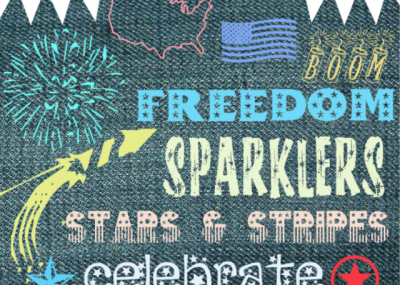 Free Dingbats Fonts for 4th of July 18